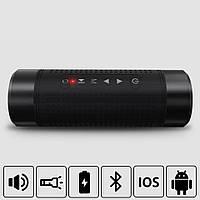 Блютуз Колонка JAKCOMBER OS2 Фонарик FM Повер Банк microUSB SD AUХ Водонепроницаемая Bluetooth