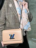 Клатч LOUIS VUITTON TWIST натуральная кожа (реплика), фото 1