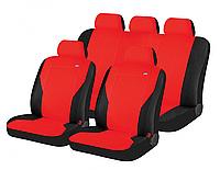 Авточехлы Hadar Rosen PASS полный комплект на салон ✓ цвет:красный-черный ✓производитель HADAR ROSEN