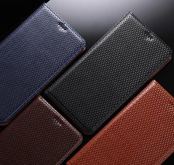 """Nokia Lumia 640 XL оригинальный кожаный чехол книжка из НАТУРАЛЬНОЙ ТЕЛЯЧЬЕЙ КОЖИ противоударный """"TOROS"""""""