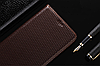 """LG G7 ThinQ оригинальный кожаный чехол книжка из натуральной кожи магнитный противоударный """"TOROS"""", фото 4"""