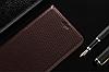 """Nokia Lumia 535 оригинальный кожаный чехол книжка из НАТУРАЛЬНОЙ ТЕЛЯЧЬЕЙ КОЖИ противоударный """"TOROS"""", фото 3"""