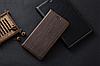 """LG Q7 (2018) оригинальный кожаный чехол книжка из натуральной кожи магнитный противоударный """"TOROS LINE"""", фото 6"""