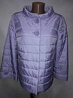 """""""button""""-демисезонная куртка 58-606 сирень"""