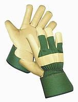 Перчатки теплые кожаные Rose Finch Cerva, фото 2