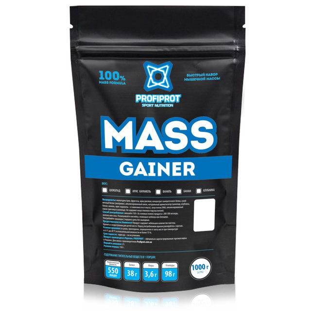 "Гейнер  ""MASS GAINER "" PROFIPROT"