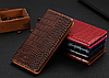 """ASUS ZenFone Max Pro M2 оригинальный кожаный чехол книжка из натуральной кожи магнит противоудар """"CROCO GOLD"""", фото 4"""