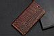 """Huawei P6 оригинальный кожаный чехол книжка из натуральной кожи магнитный противоударный """"CROCO GOLD"""", фото 4"""