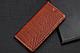 """Huawei P6 оригинальный кожаный чехол книжка из натуральной кожи магнитный противоударный """"CROCO GOLD"""", фото 5"""