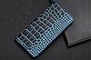 """ASUS ZenFone Max Pro M2 оригинальный кожаный чехол книжка из натуральной кожи магнит противоудар """"CROCO GOLD"""", фото 7"""