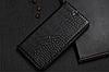 """ASUS ZenFone Max Pro M2 оригинальный кожаный чехол книжка из натуральной кожи магнит противоудар """"CROCO GOLD"""", фото 8"""