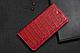 """Huawei P6 оригинальный кожаный чехол книжка из натуральной кожи магнитный противоударный """"CROCO GOLD"""", фото 8"""