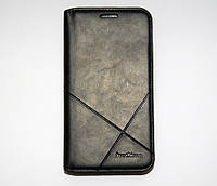 Чехол-книжка для смартфона Samsung Galaxy J3 2016 J320 чёрная