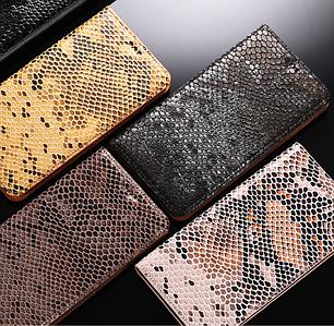 """SONY X F5122 оригинальный кожаный чехол книжка из натуральной кожи магнитный противоударный """"SNAKE SKIN"""""""