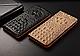 """Huawei P6 оригинальный кожаный чехол книжка из натуральной кожи магнитный противоударный """"3D CROCO S"""", фото 2"""