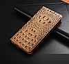 """SONY XA F3112 оригинальный кожаный чехол книжка из натуральной кожи магнитный противоударный """"3D CROCO S"""", фото 6"""