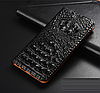 """HONOR V9 / 8 Pro оригинальный кожаный чехол книжка из натуральной кожи магнитный противоударный """"3D CROCO S"""", фото 8"""