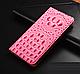 """Huawei P6 оригинальный кожаный чехол книжка из натуральной кожи магнитный противоударный """"3D CROCO S"""", фото 8"""