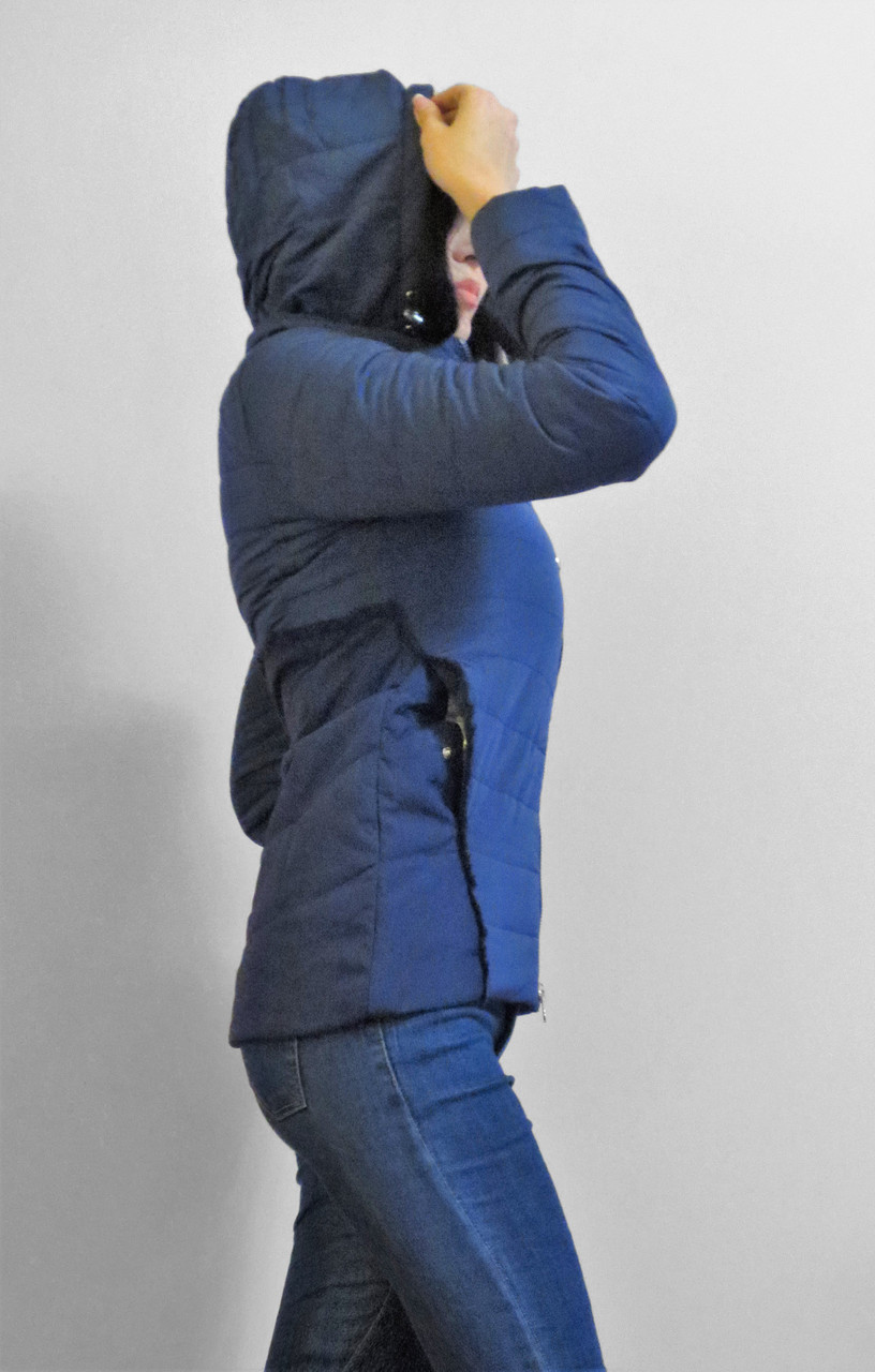 Демисезонная утепленная женская куртка