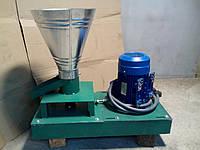 Гранулятор комбикормов с двухсторонней матрицей 110мм, 50 кг/час (без двигателя)