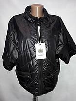 """""""button""""-демисезонная куртка 60-130 синий, фото 3"""