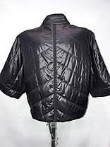 """""""button""""-демисезонная куртка 60-130 синий, фото 2"""