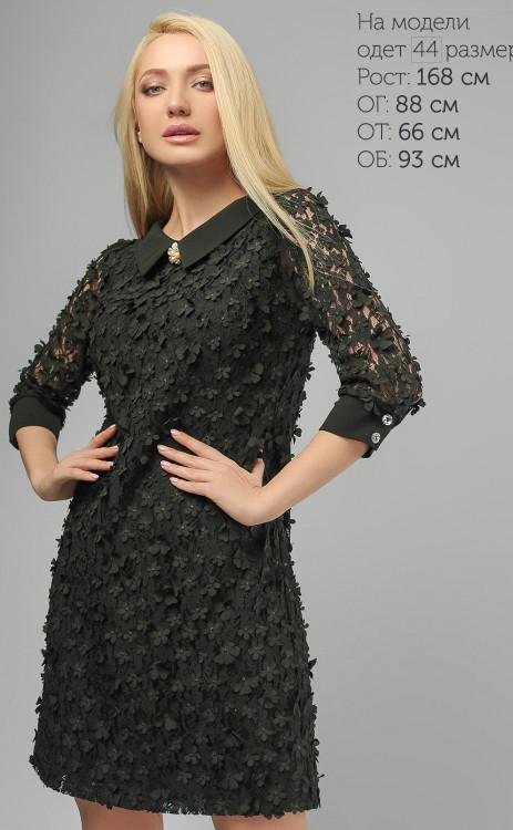 9d35187327b Стильное черное платье-трапеция
