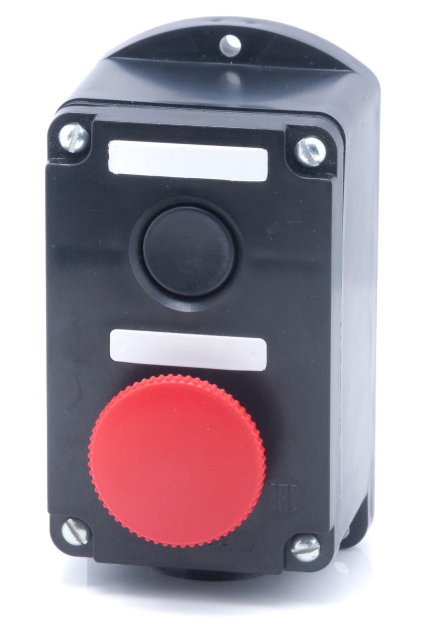 Пост кнопковий ПКЄ 222-2 IP54 гриб