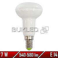 Светодиодная лампа 7Вт, 220 В, E14, 540-580 Лм R50