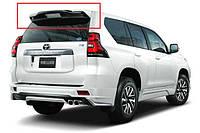 Спойлер багажника Toyota Prado 2018+ г.в. стиль TRD