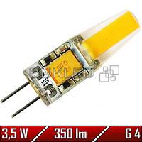 Светодиодная лампа 3.5Вт, 12 В, G4 , 350 Лм