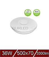 Светодиодный  LED Светильник SMART LIGHT RGB 36W dimmable 3000-6500K, фото 1