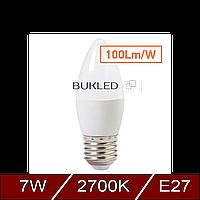Светодиодная лампа Feron LB-197 7W E27 2700K, фото 1
