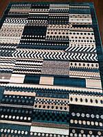 Ковер Daffi синяя мозаика 2.00х3.00 м., фото 1