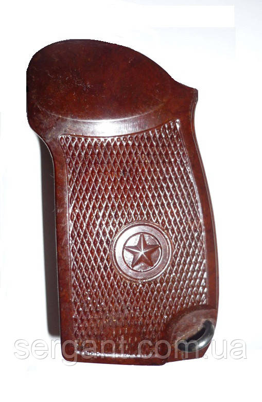 Бакелитовая рукоятка оригинальная НОВАЯ  для пистолета Макарова ПМ (оригинал СССР), фото 1