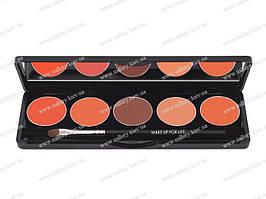 Палитра из 5 помад (5 Lipstick palette) №4