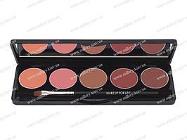 Палитра из 5 помад (5 Lipstick palette) №5