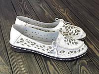 Женские мокасины Allshoes белые, фото 1