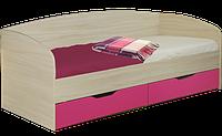 Кровать Винни односпальная с ящиками 2000х 900