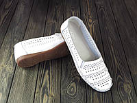 Мокасины Allshoes 60190-3  WHITE KOGA 40 26 см, фото 1