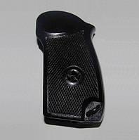 Чёрная пластиковая оригинальная рукоятка для пистолета Макарова ПМ (оригинал СССР), фото 1