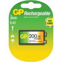 Аккумулятор, зарядное устройство для TV GP & Max Крона GP 200mAh * 1 (20R8H-U1)