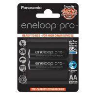 Акумулятор PANASONIC Eneloop Pro AA 2500mAh NI-MH * 2 (BK-3HCDE\/2BE)