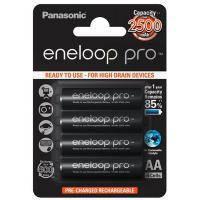 Акумулятор PANASONIC Eneloop Pro AA 2500mAh NI-MH * 4 (BK-3HCDE\/4BE)