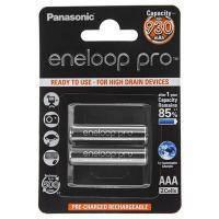 Аккумулятор, зарядное устройство для TV Panasonic Eneloop Pro AAA 930 mAh NI-MH * 2 (BK-4HCDE\/2BE)