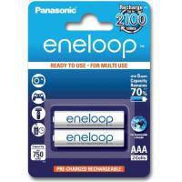 Акумулятор PANASONIC Eneloop AAA 750mAh NI-MH * 2 (BK-4MCCE\/2BE)
