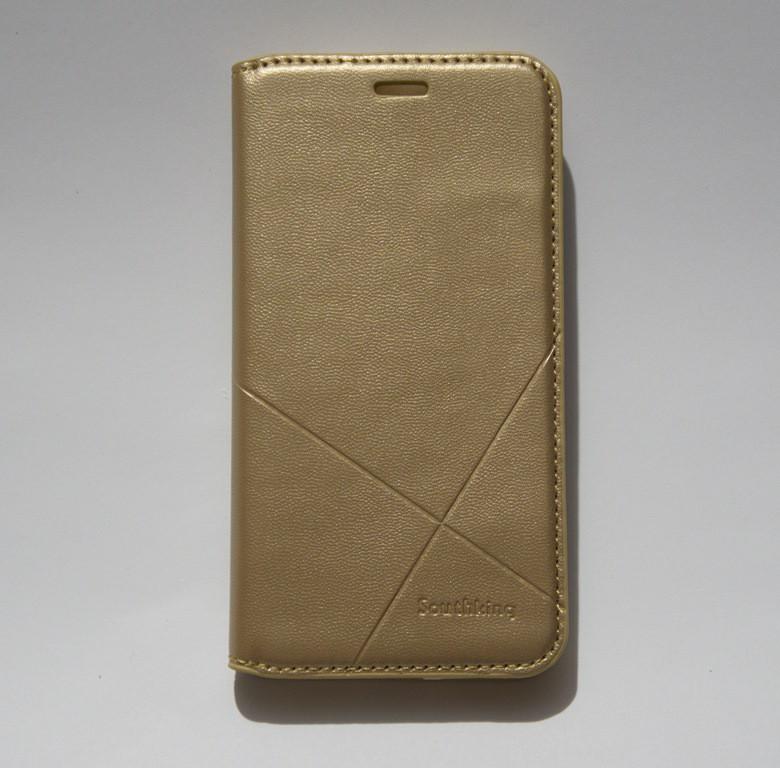 Чехол-книжка для смартфона Xiaomi Redmi 4X золотая