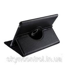 """Защитный вращающийся кожаный чехол для Smart чехол для IPAD 2/3/4 9,7"""" черного цвета"""