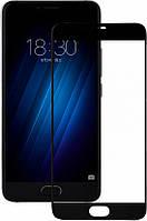 2.5D Защитное стекло Mocolo для Meizu U20 Черное (FullCover)