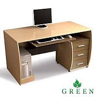 Компьютерный стол Д1300хГ600хВ750. W90